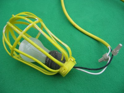 TEMPORARY JOB SITE WORK LAMP LIGHT STRING LIGHTING 50FT eBay