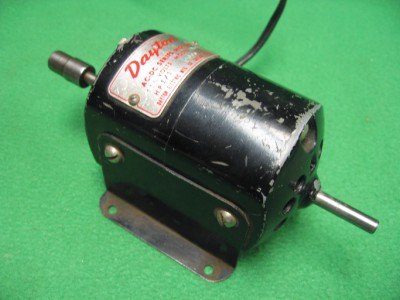 2 dayton 2m066 ac dc 115v electric motor 1 4 double end
