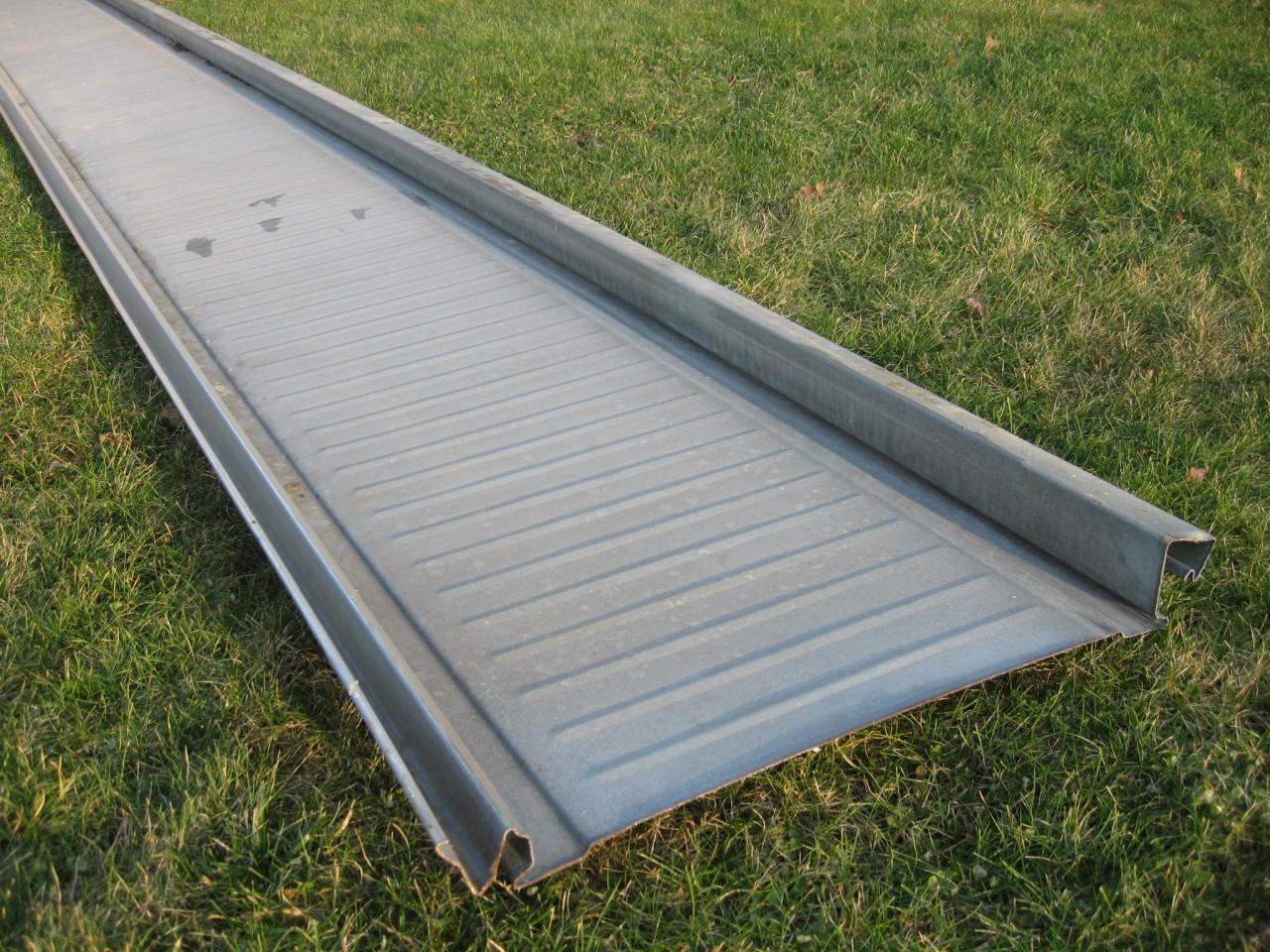 interlocking metal roofing