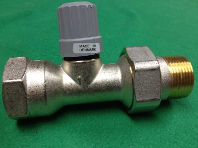 danfoss thermostatic radiator valve 013g8025 1 npt hot 2 pipe steam ra 2000 ebay. Black Bedroom Furniture Sets. Home Design Ideas