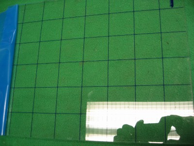 20 sheets clear acrylic grid plastic sheet flat stock 13 9 for Plastic grid sheets crafts