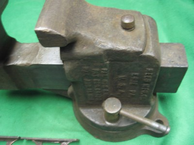 Early Reed No 204 Vintage Heavy Duty Swivel Bench Vise