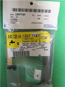 15077187 gm bcm body control module to fusebox ribbon cable 15077187 gm bcm body control module to fusebox ribbon cable connector harness