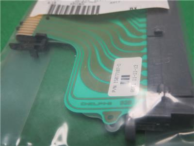 15077187 gm bcm body control module to fusebox ribbon cable body control module bcm fuse box block ribbon harness connector gm part 15077187 15328303