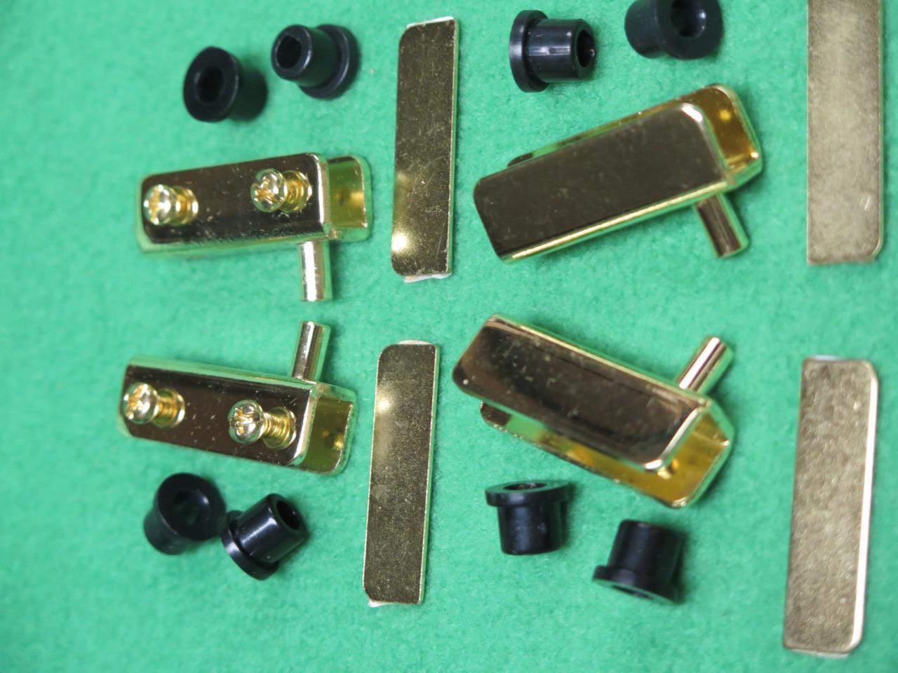 10 Pr Cabinet Inset Glass Door Swinging Pivot