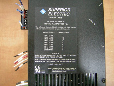 Superior Electric Ss2000d6 Slo Syn Motor Drive Stepper Ebay