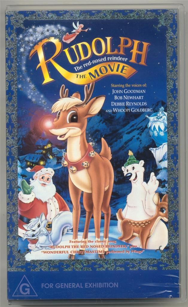 RUDOLPH-THE-RED-NOSED- Rudolph The Red Nosed Reindeer Vhs 1995