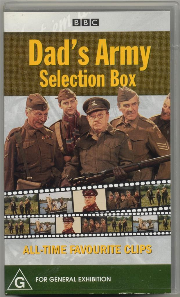 DAD'S Army Selection BOX BBC VHS Video ALL Time Favourite ...