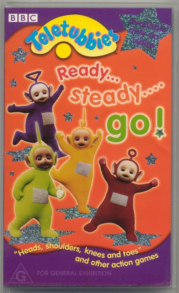 TELETUBBIES - Ready...Steady...Go! - BBC VHS Video   eBay