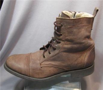 Call It Spring Bourgoin Mens Boots Mens Brown Military Style