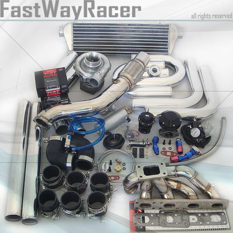 BMW 318I 318IC 318IS E36 L4 M42 2D T3/T4 Turbo Kit T3