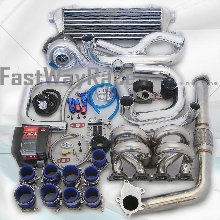 Honda B16 Supercharger: 94-01 Integra GSR GS-R LS Type-R B18C5 T3/T4 Turbo Kit