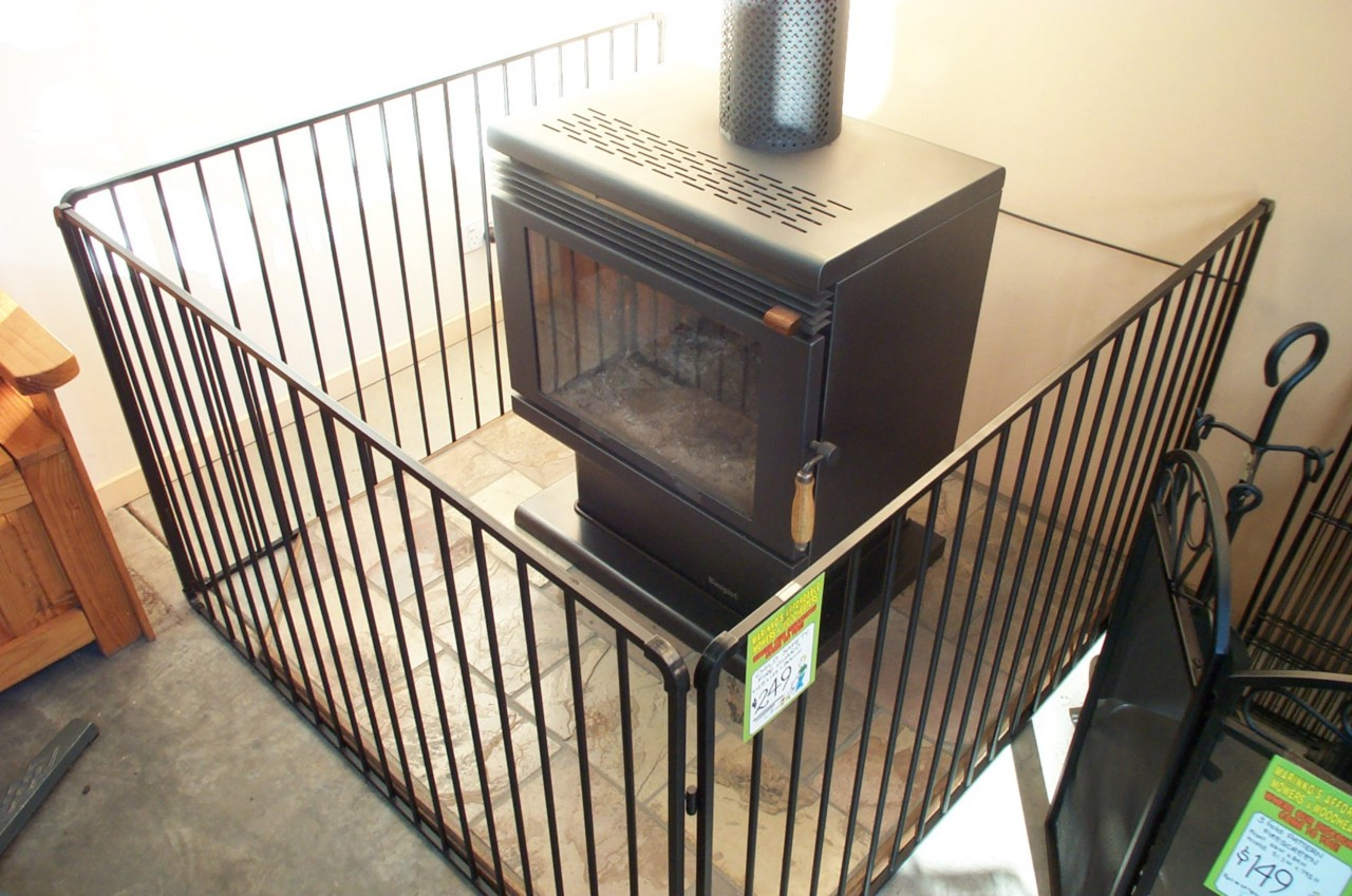 Large Steel Child Safety Guard Wood Heater Fire Screen 125x125cm Ebay
