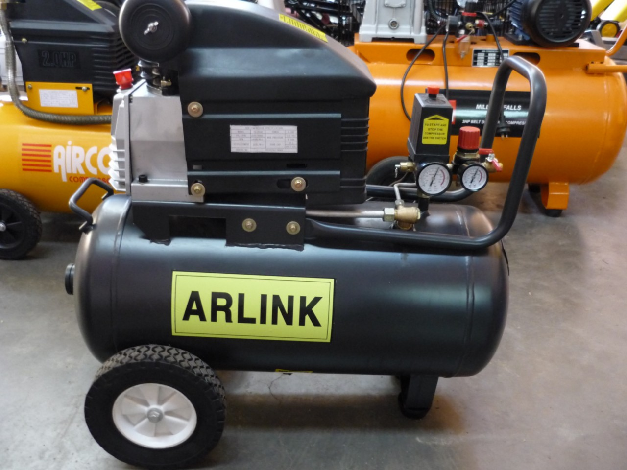 Air Compressor Electric Motor Direct Drive Td2540 Ebay