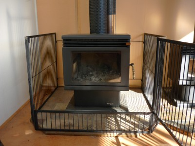 Steel Child Safety Guard Fire Screen With Gate B New 125cm X 125cm Ebay