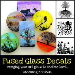 Fused Glass Firing Enamel