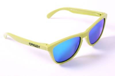 blue frame oakley sunglasses  oakley frogskins sunglasses