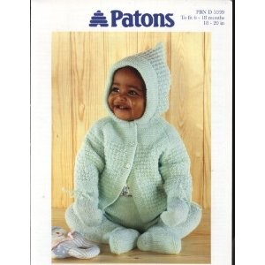 Baby's Knitted Smock And Leggings Set | Grandmother's Pattern Book