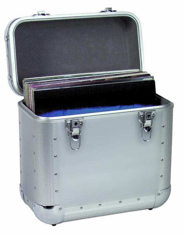 Valigia dj fly case 50 lp borsa flight case mobile box ebay - Valigia porta vinili ...