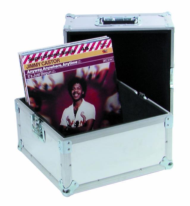 Flycase valigia per 100 lp 33 giri doppia funzione anche espositore 200 lp ebay - Mobile porta dischi vinile ...