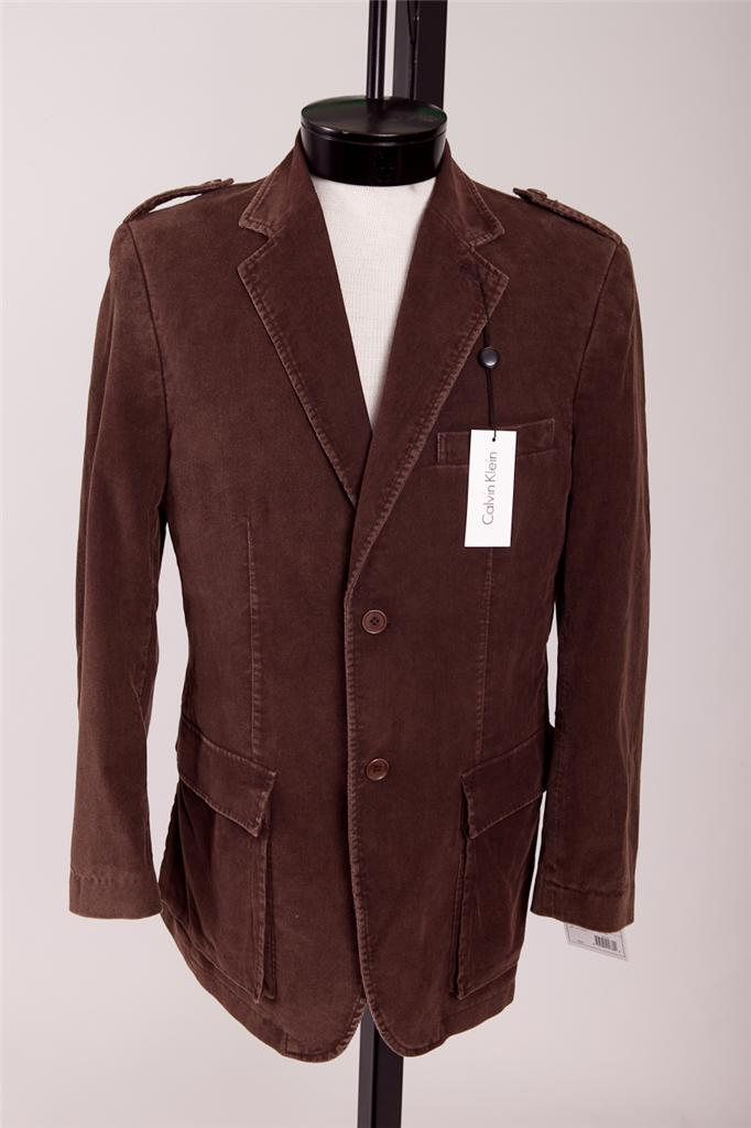 I also enjoy my dark brown corduroy sport coat from Old Navy. I worked there for a few years in high school, and was able to pick up a few great pieces as a result. The jacket is actually fairly durable, features surgeon's cuffs, and is fairly versatile.