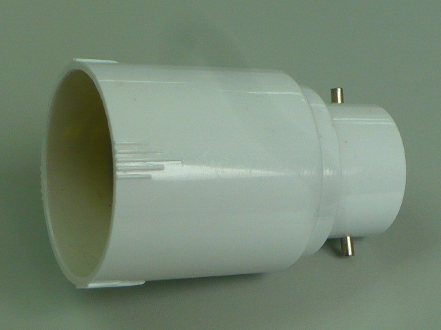 Details about LED Halogen CFL Light Bulb Lamp Adapter B22 to E27 Base