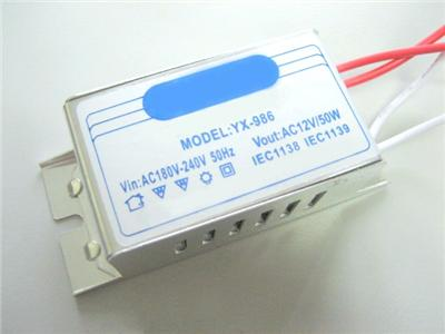 TEN-50W-12V-MR16-Halogen-Bulb-Electric-Transformer-240V-to-AC-12V-Volt-converter