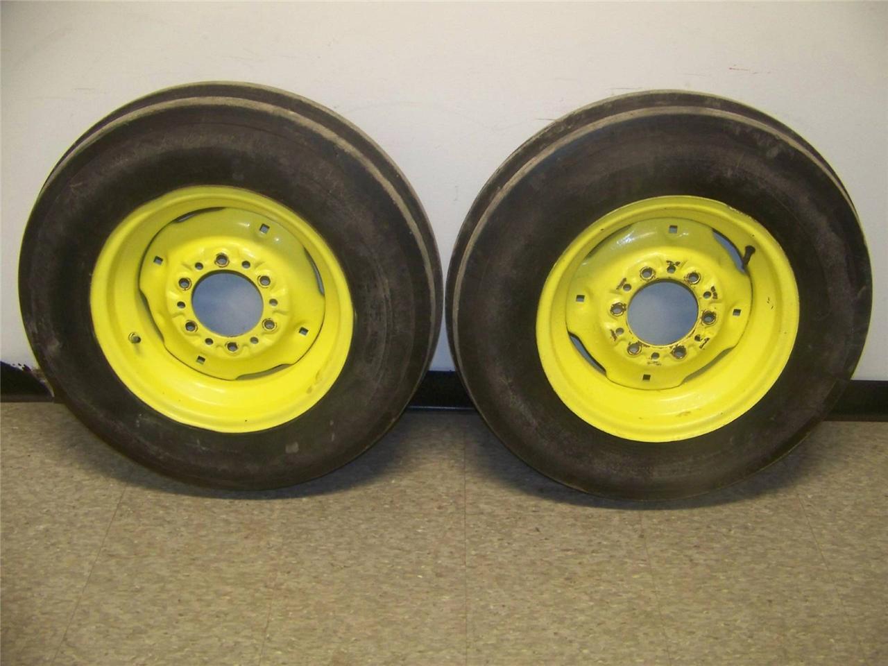 John Deere Tractor Tire Rims : New john deere front tractor tire hole wheel rim