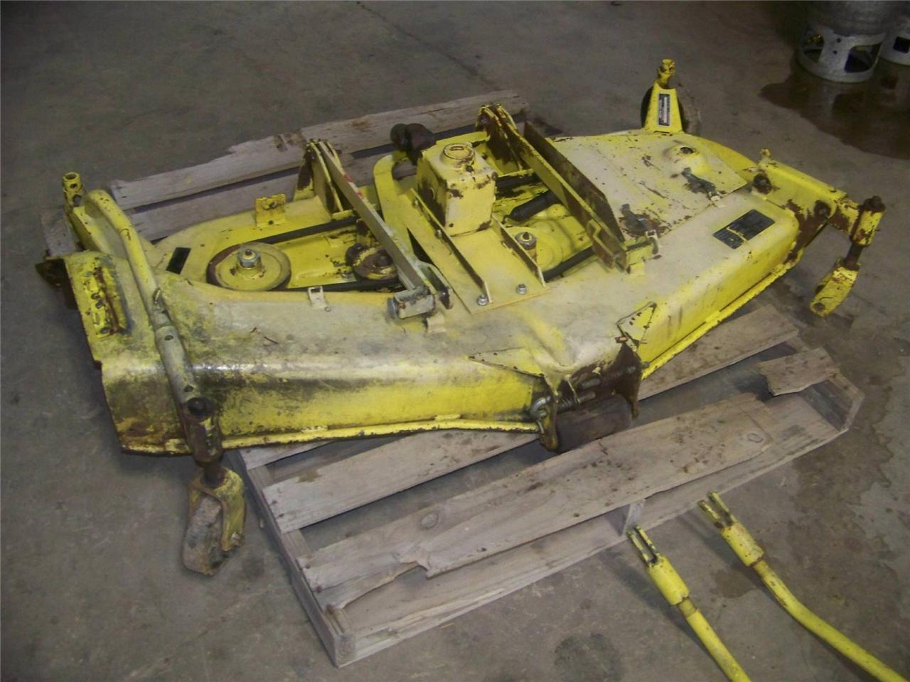 John Deere 655 755 855 Tractor Original Used 60 U0026quot  Mid Mount
