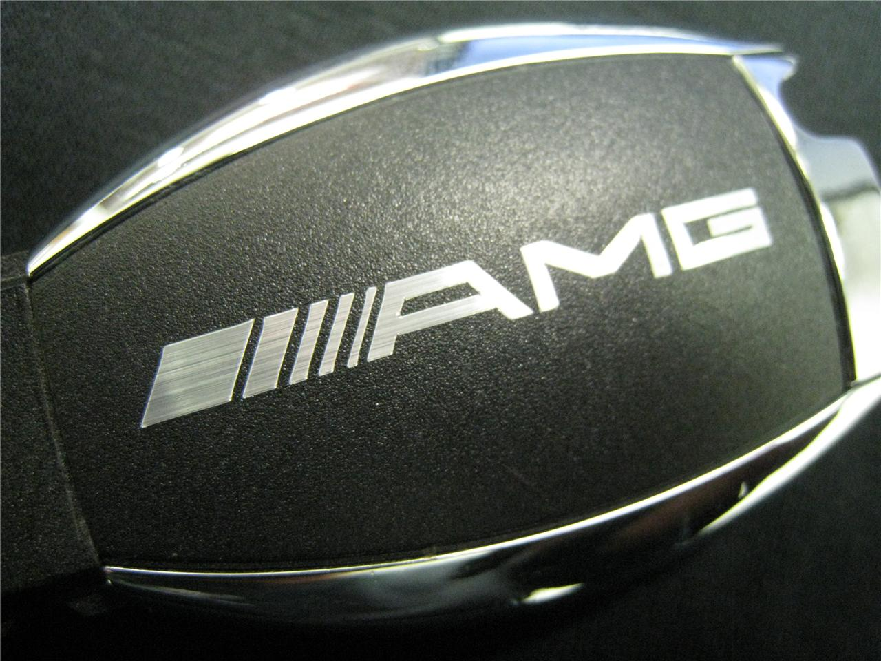 Buy 2x amg decal sticker mercedes benz car key for A mercedes benz product sticker
