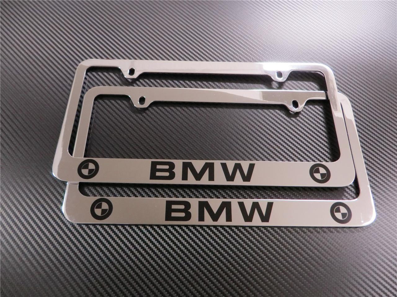 ShopBMWUSAcom BMW M LOGO LICENSE PLATE FRAMES