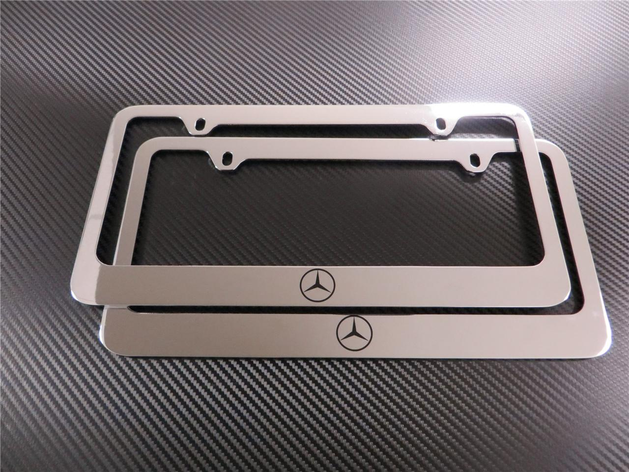 buy 2pcs mercedes benz logo e class chrome metal