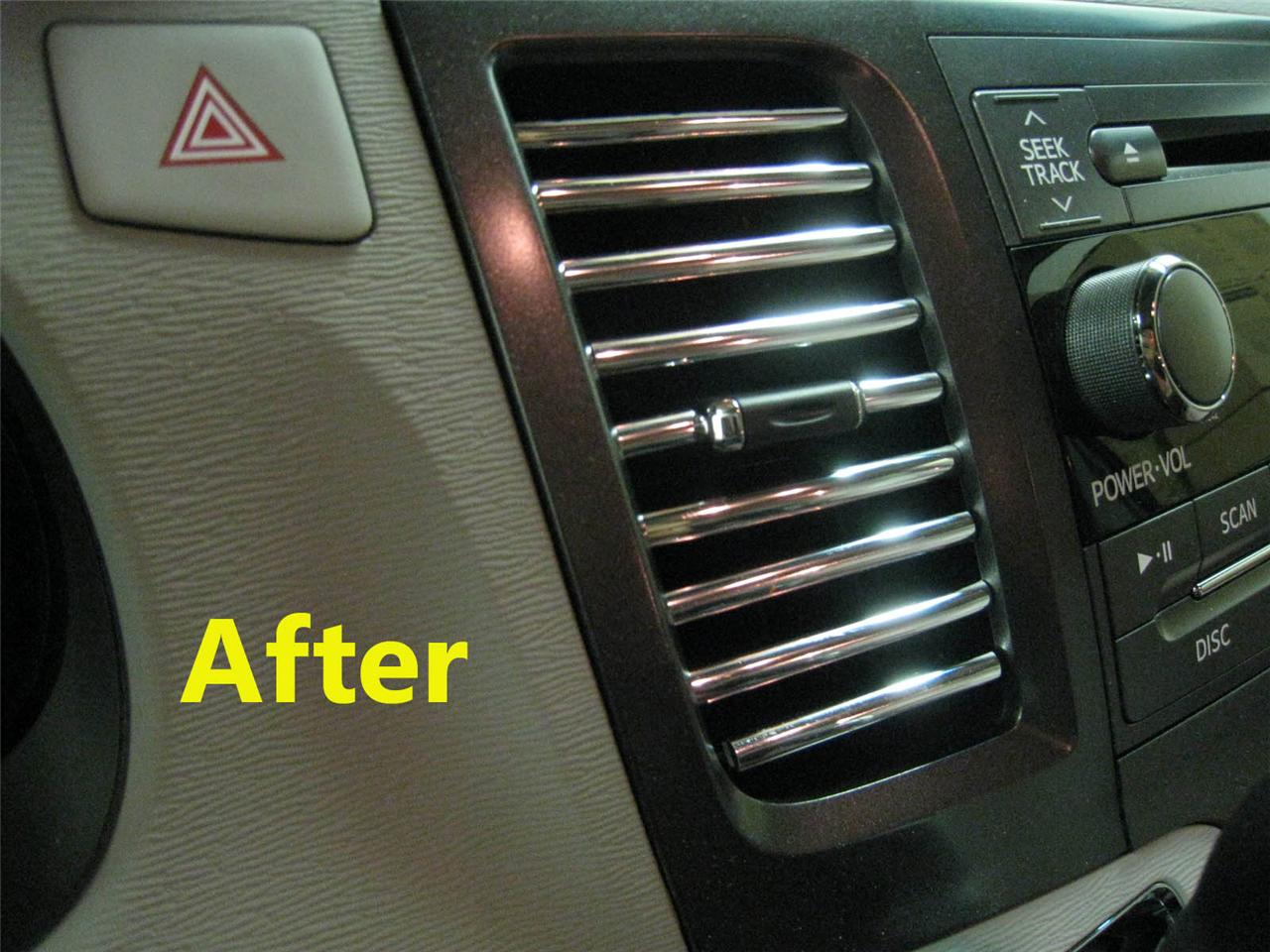 Find 20pcs Set Chrome Ac Vent Trim Dash Molding Interior Volvo20 Motorcycle In Ca Us For Us