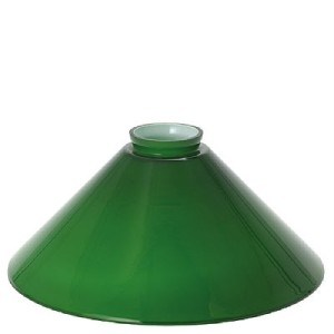 mid century emeralite style green cased glass shade for hanging light. Black Bedroom Furniture Sets. Home Design Ideas
