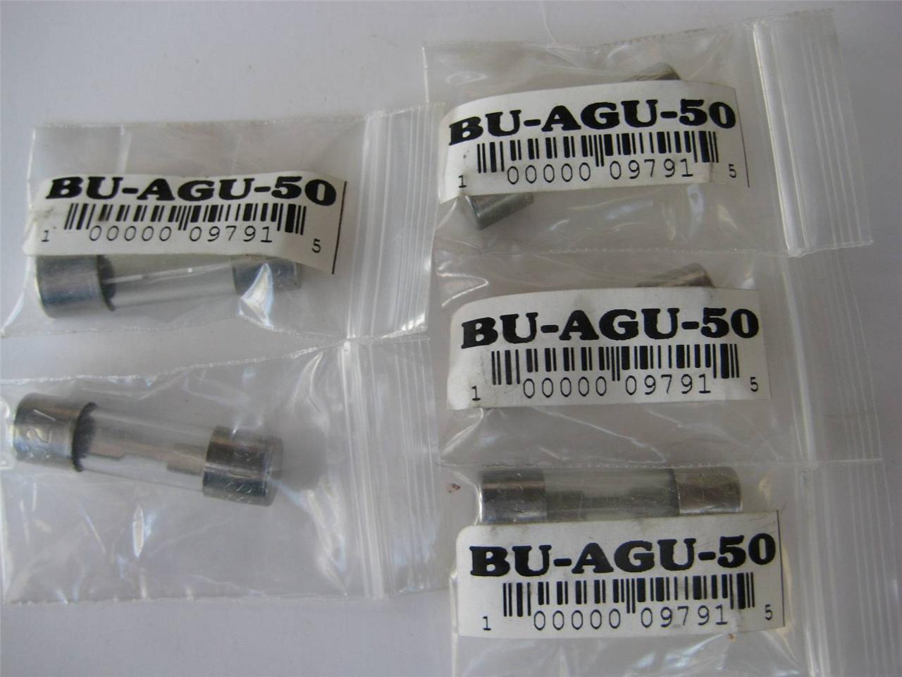 731849128_o 1 or 5 pack bussmann fuse agu 4 10 15 25 30 35 or 60 amp 32v 13 32