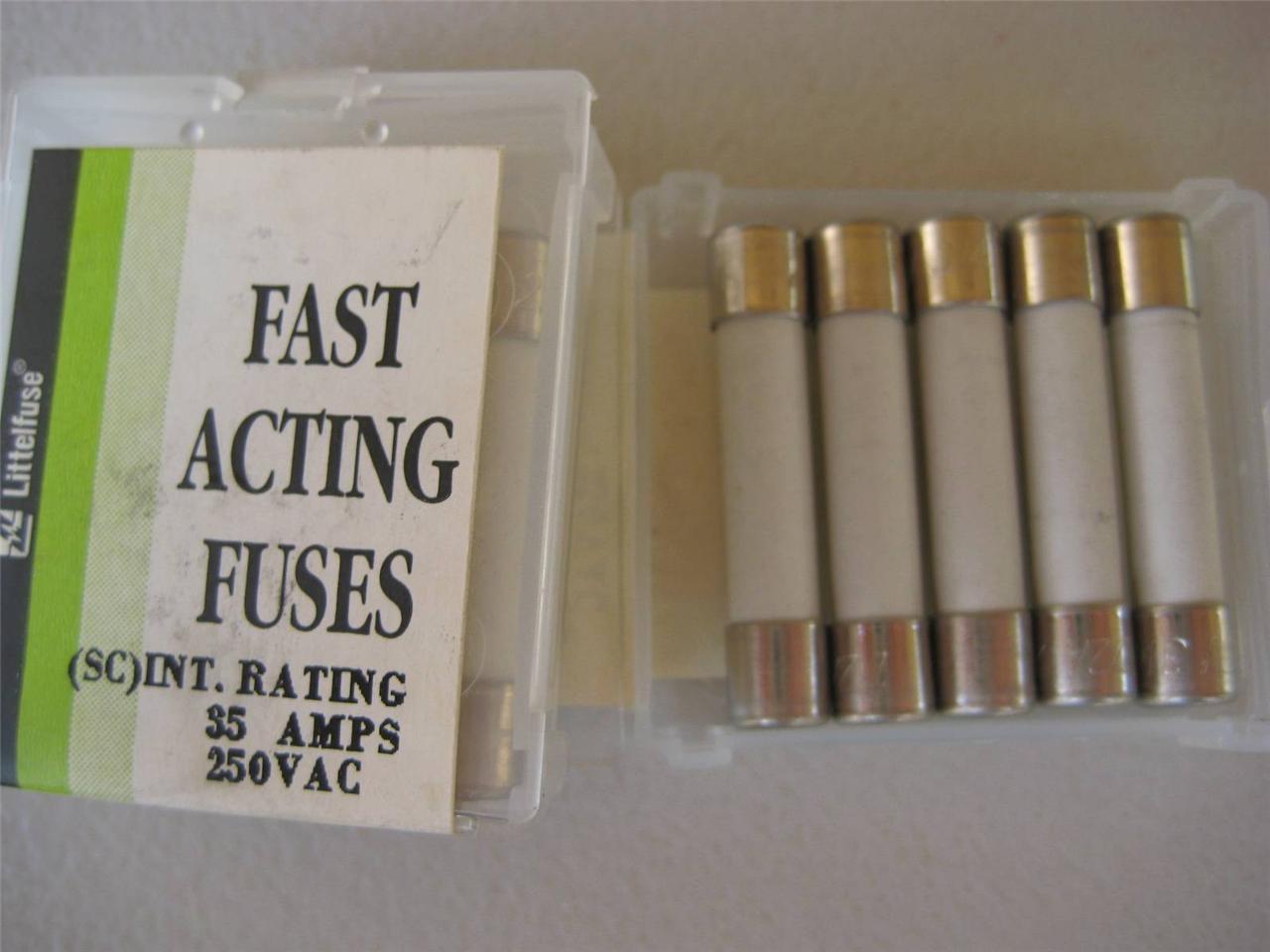 Littelfuse 3Series Cartridge Fuses Mouser