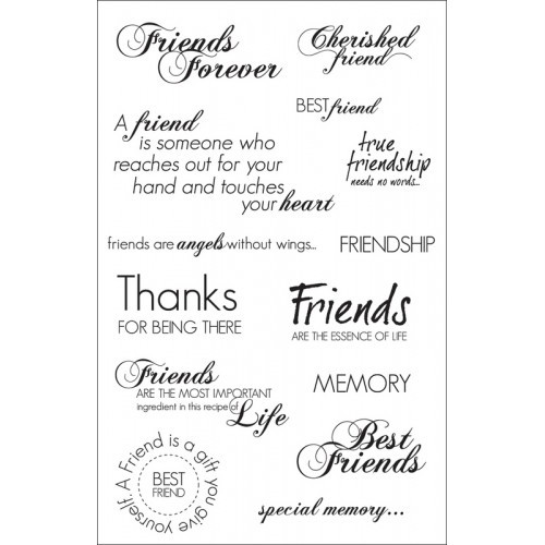 how to use clear stamps in card making