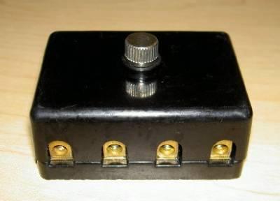1950 s 1960 s ceramic 4 fuse box in style plastic brand new mv morini guzzi ebay