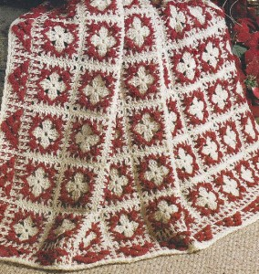 Crochet Afghan Patterns With 2 Colors : 01A CROCHET PATTERN FOR Beautiful 2 Color Diamond Square ...