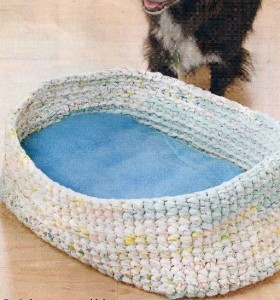 DOGGIE BED CROCHET PATTERN CROCHET