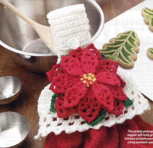 Crochet Free Pattern Toppers Towel | Free Patterns For Crochet