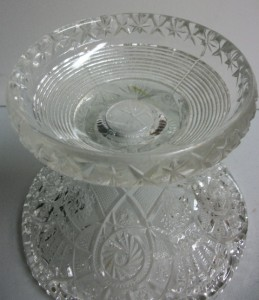 Imperial Glass - Rose Milk Glass Pattern - Canape Plate - 10.75