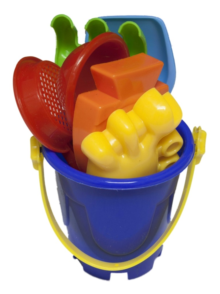 Toys For Beach : Piece kids fun sand water beach toy bucket spades