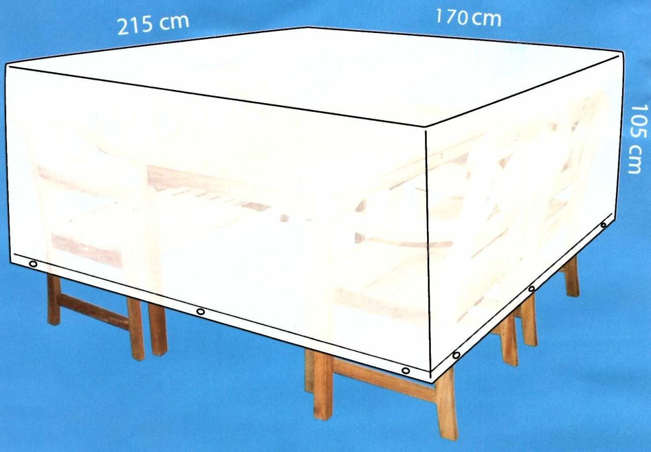 Ext rieur rectangulaire table jardin patio chaise de pluie - Bache protection table exterieure ...