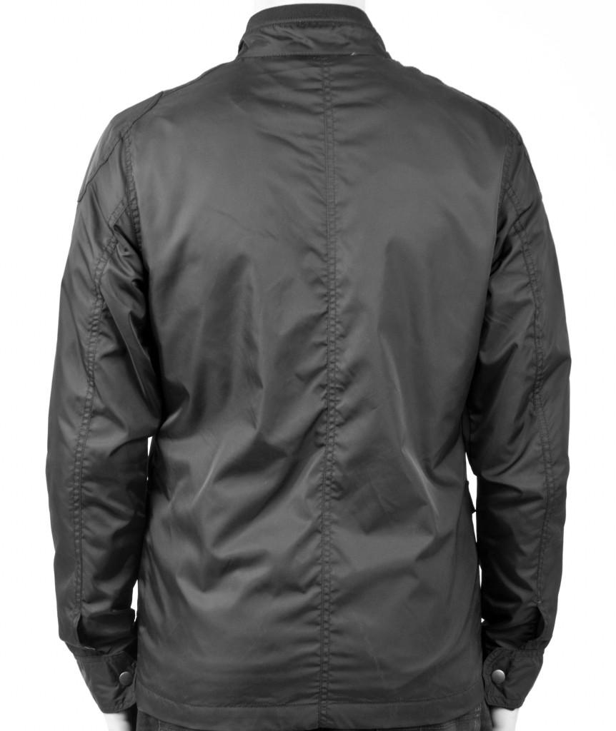 Mens Smart Casual Short Black Coat Lightweight Winter / Summer