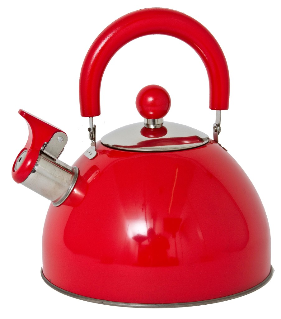 Food Electric Kettles ~ Retro style l whistling kettle boiling cooking electric