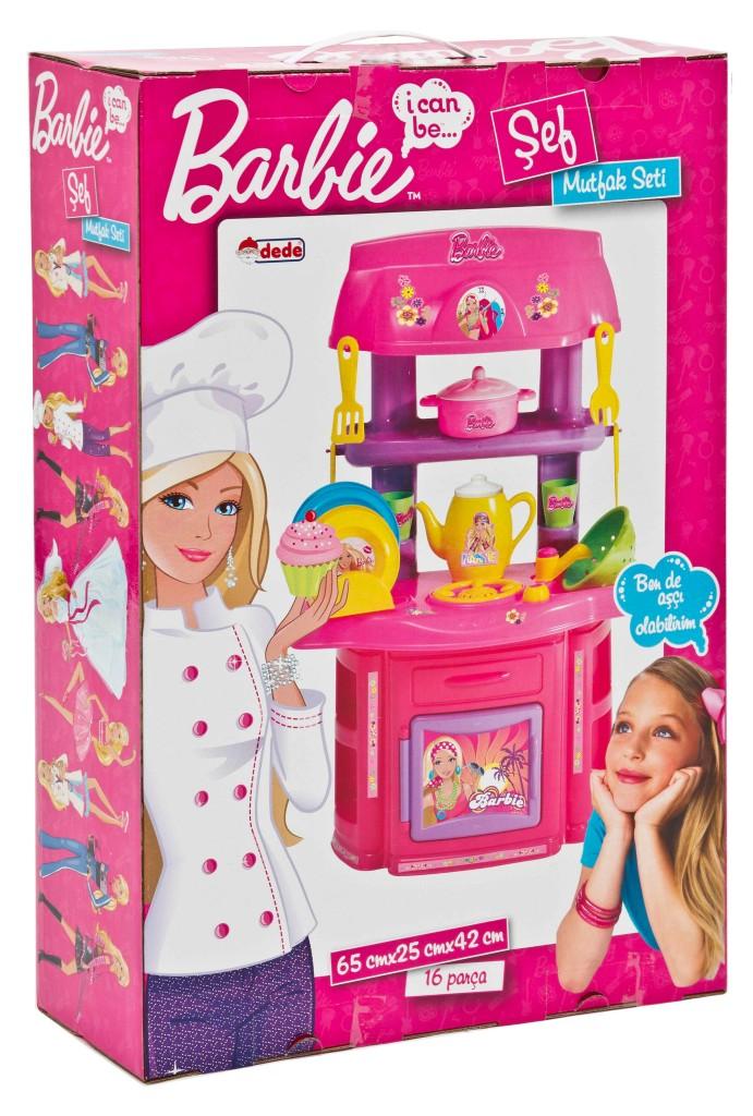 16 pi ces barbie cuisine set de jeux pour enfants r le amusant cadeau filles ebay. Black Bedroom Furniture Sets. Home Design Ideas