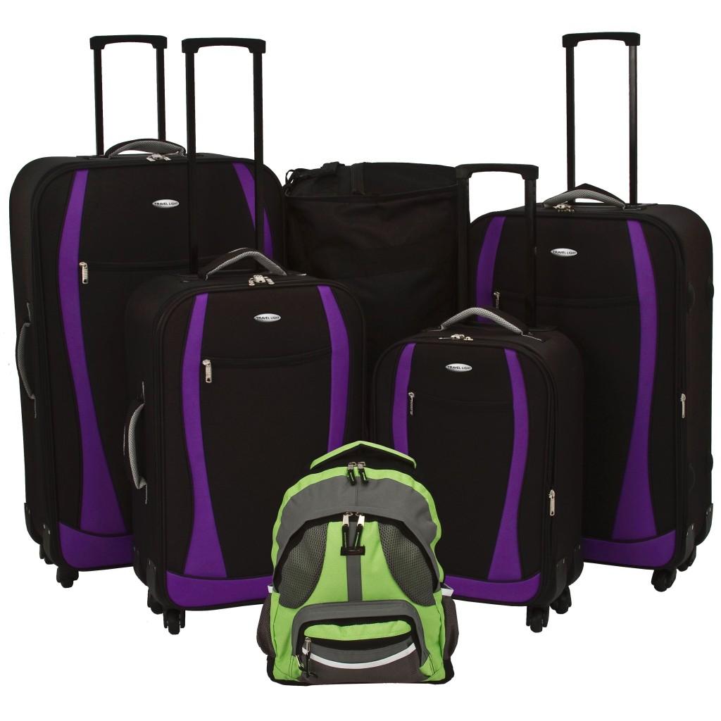Single Or Set Designer Expandable 4 Wheel Spinner Travel Light Quality Luggage