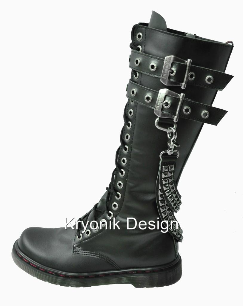 Brilliant Womens Combat Style Army Worker Military Ankle Boots Flat Punk Goth