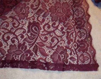 Burgundy Window Scarf Clothing and Accessories - Shopping.com